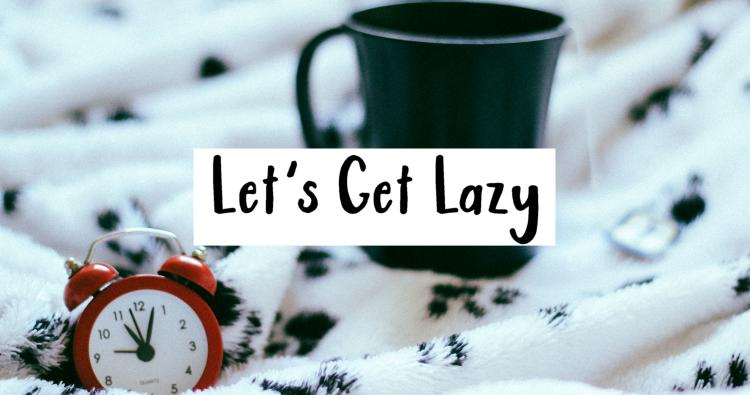 lazy self care