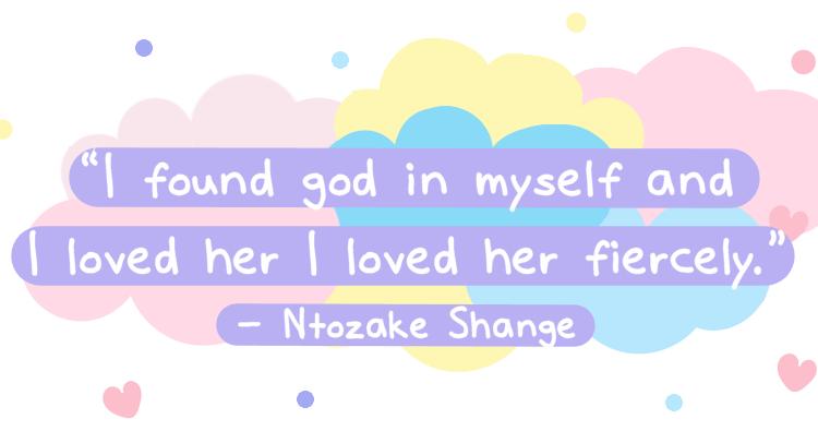 i found god in myself