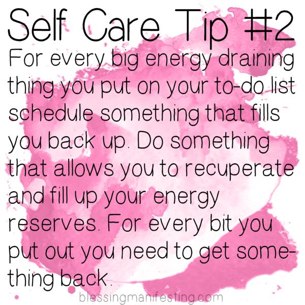 Self Care: Energy Balance