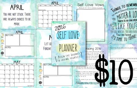 Self Love Planner