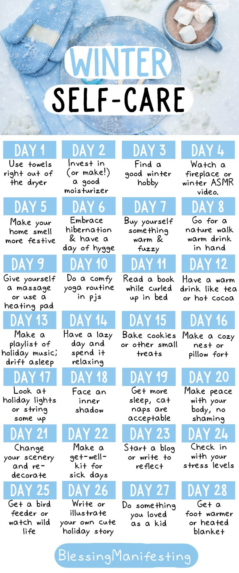 winter self-care