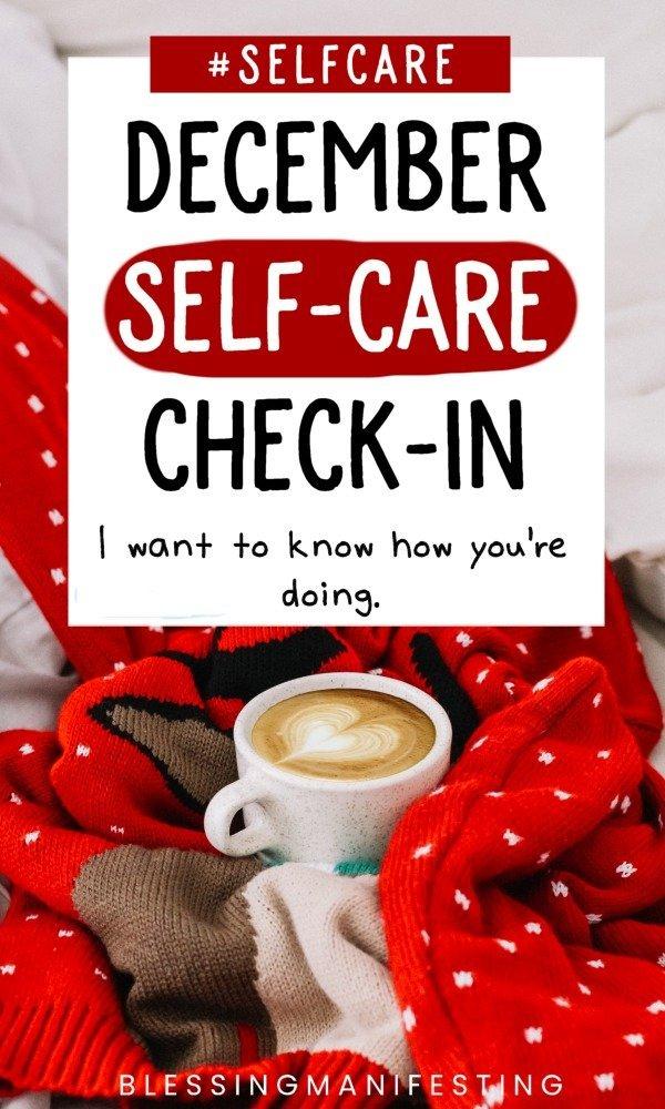 december self-care