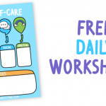 daily self-care worksheet