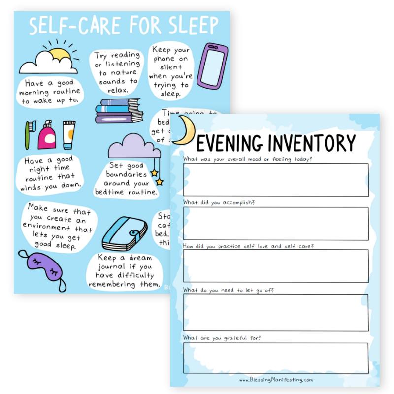 evening inventory