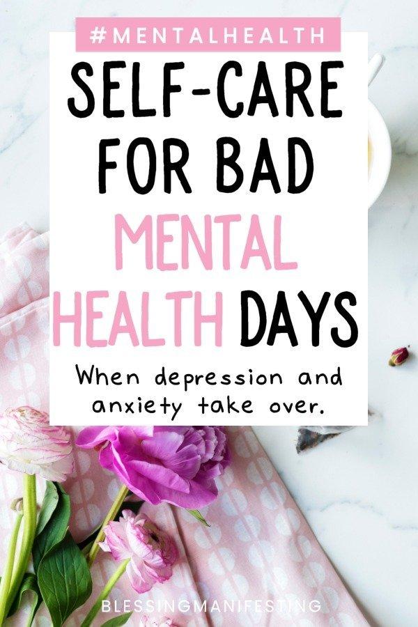 Bad Mental Health Days