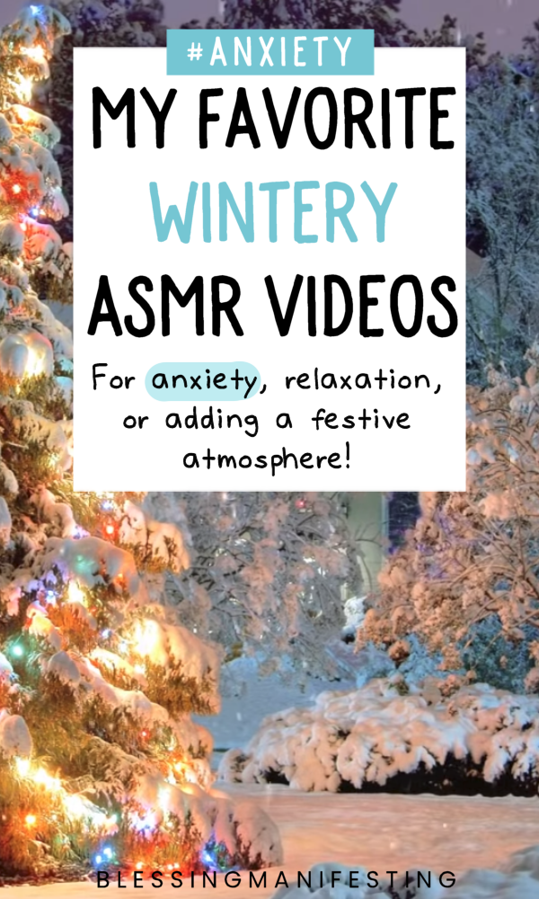 winter asmr