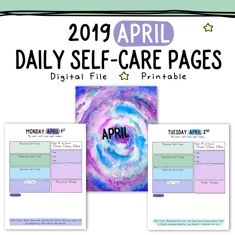april self-care