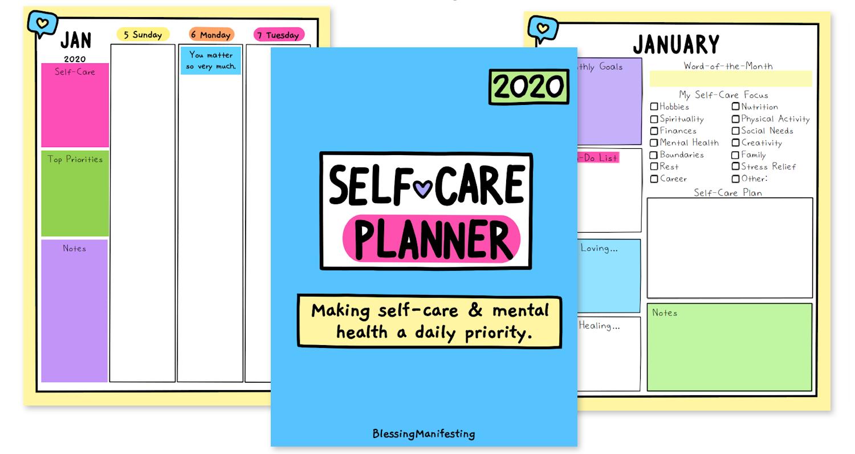 mental health planner