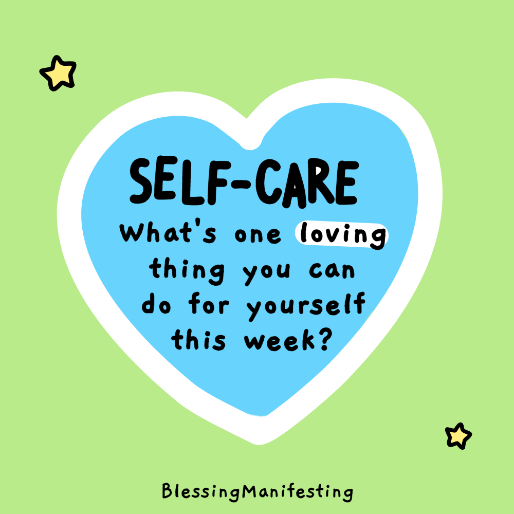 self-care look like