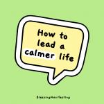 calmer life