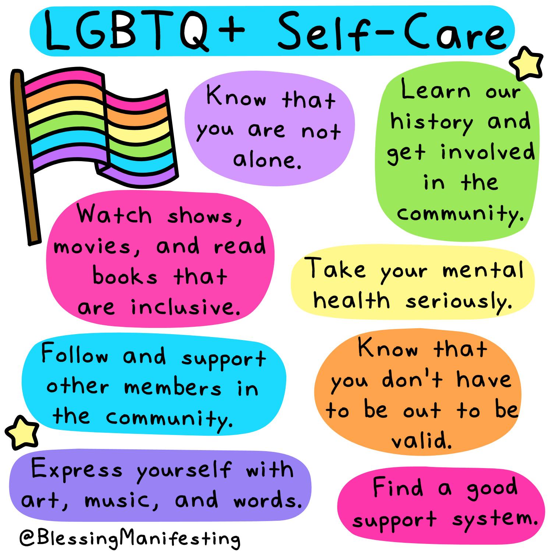LGBTQ+ self-care