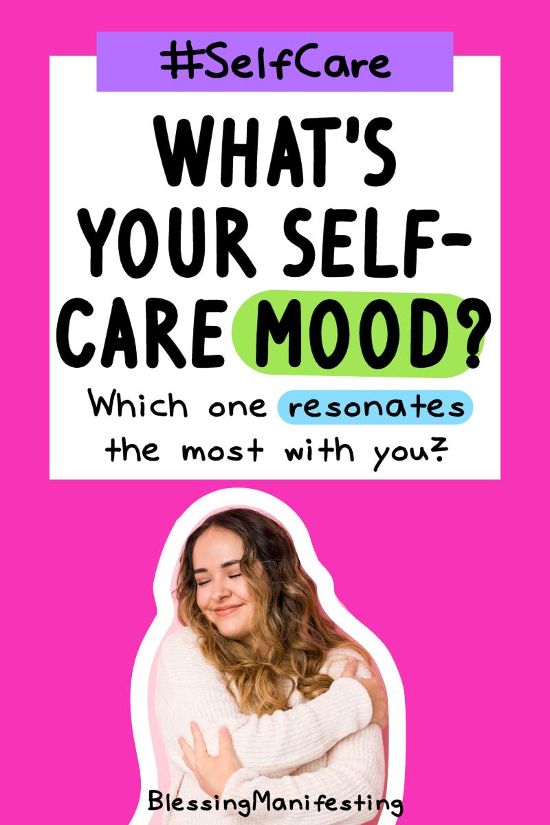 self-care mood