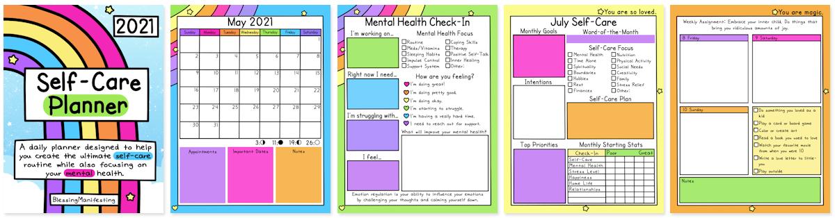 Self-Care Planner Banner