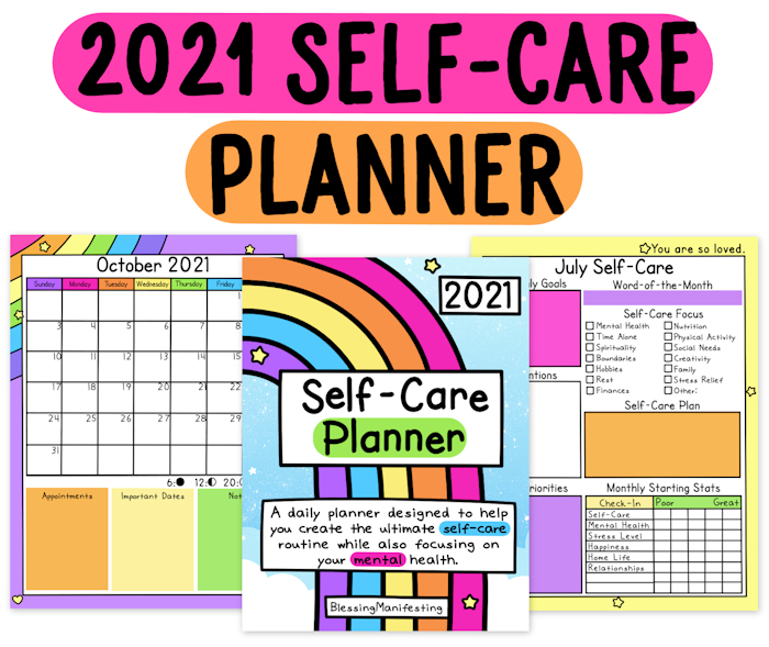 Self-Care Worksheets