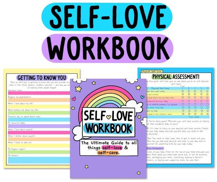 self-love printables